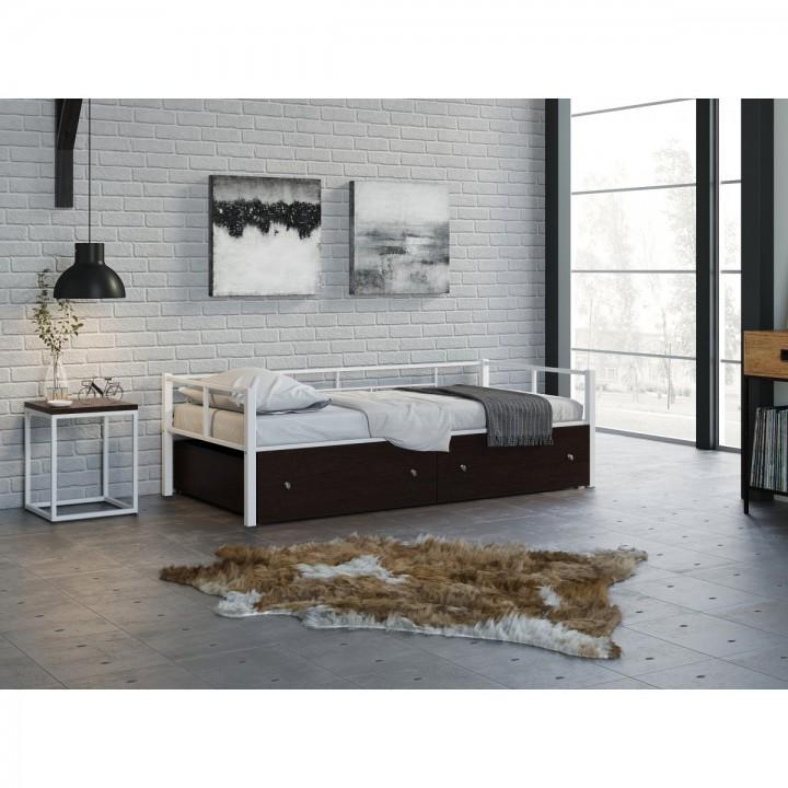 Односпальная кровать 4 Сезона Арга с ящиками