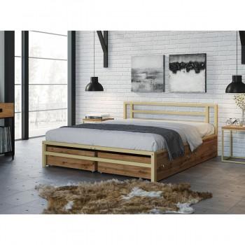 Двуспальная кровать 4 Сезона Титан с ящиками