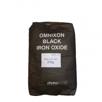 Пигмент для бетона черный Omnicon BL 2360 фасовка по 1кг