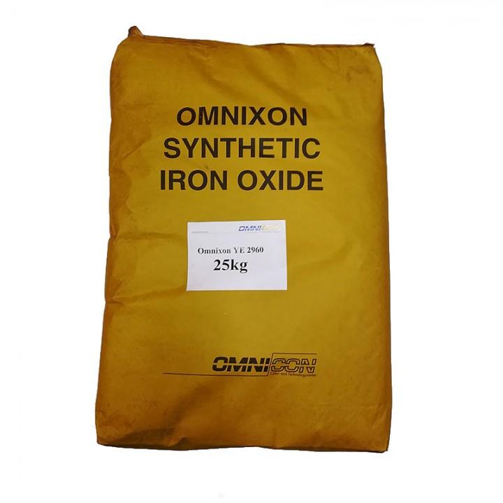 Пигмент для бетона оранжевый Omnicon YE 2960 расфасовка по 1кг