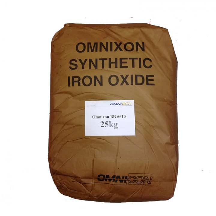 Пигмент для бетона светло-коричневый Omnixon BR 6610 расфасовка по 2,5кг