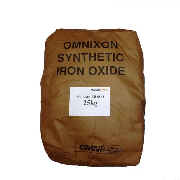 Пигмент для бетона темно-коричневый Omnixon BR 6862 расфасовка по 5кг