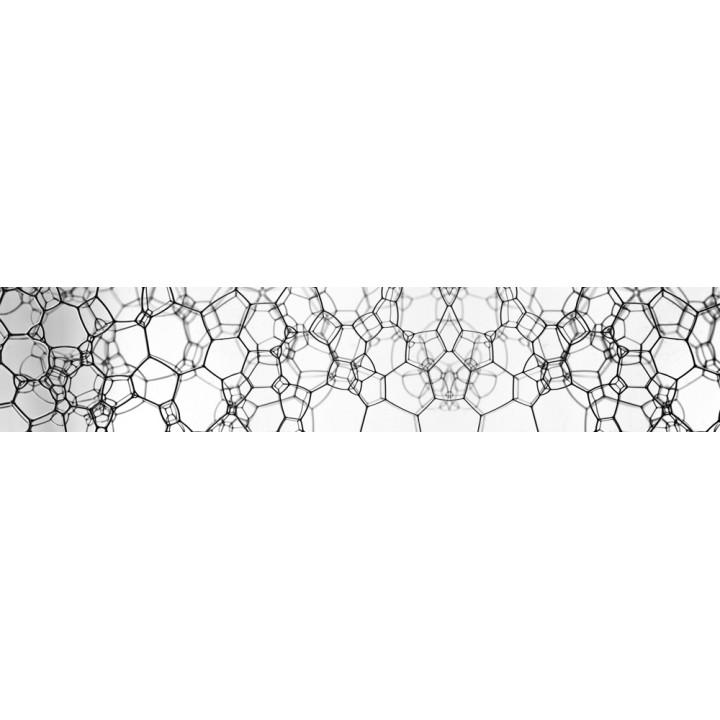 Кухонный фартук Молекулы