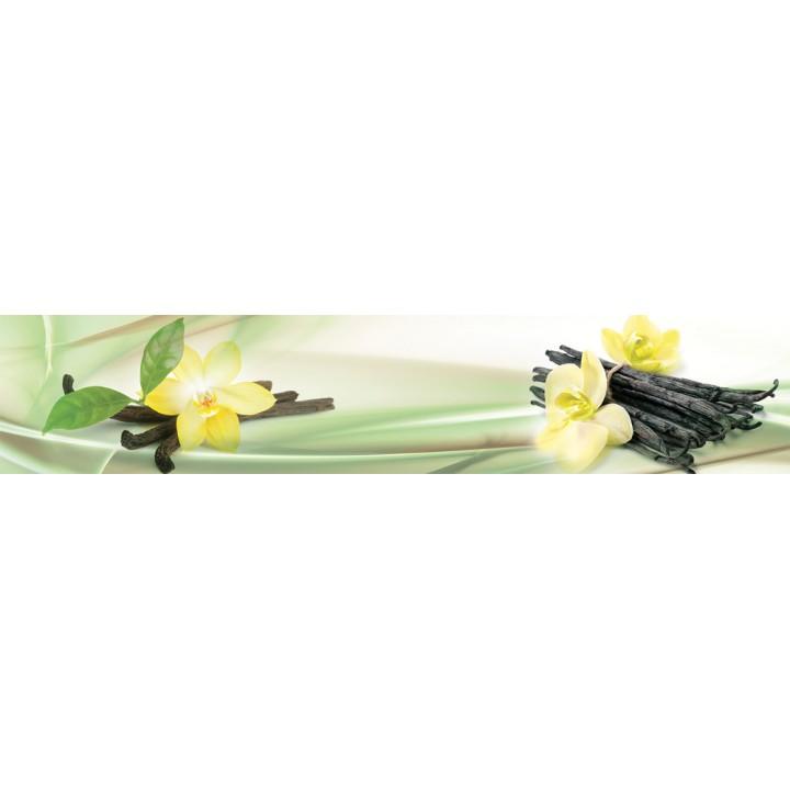 Кухонный фартук Цветы ванили