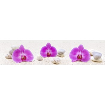 Кухонный фартук Орхидеи на пляже