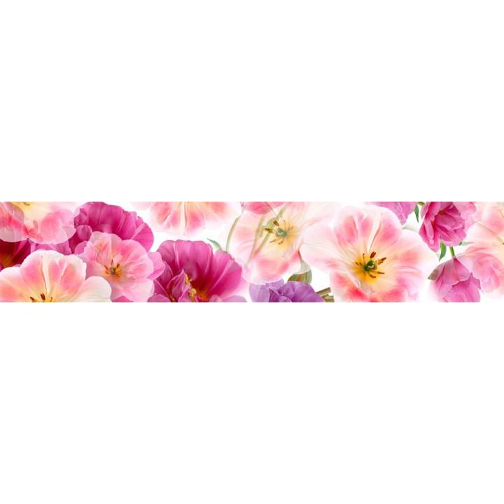 Кухонный фартук Воздушные цветы