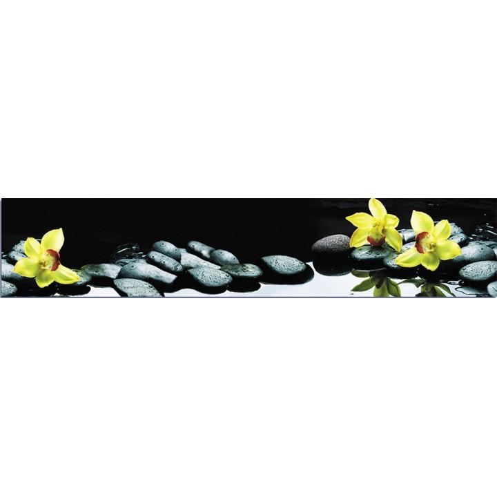 Кухонный фартук Орхидеи в воде