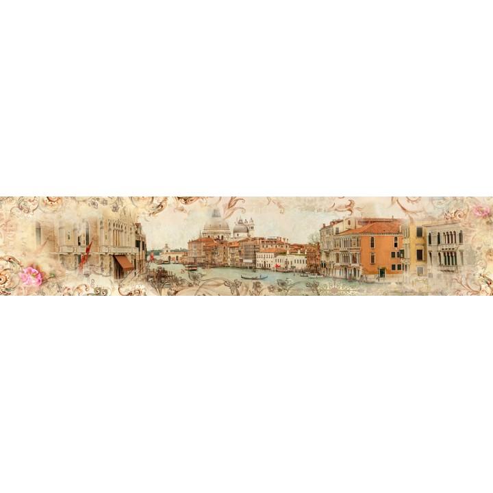 Кухонный фартук Фреска Вид на Венецию