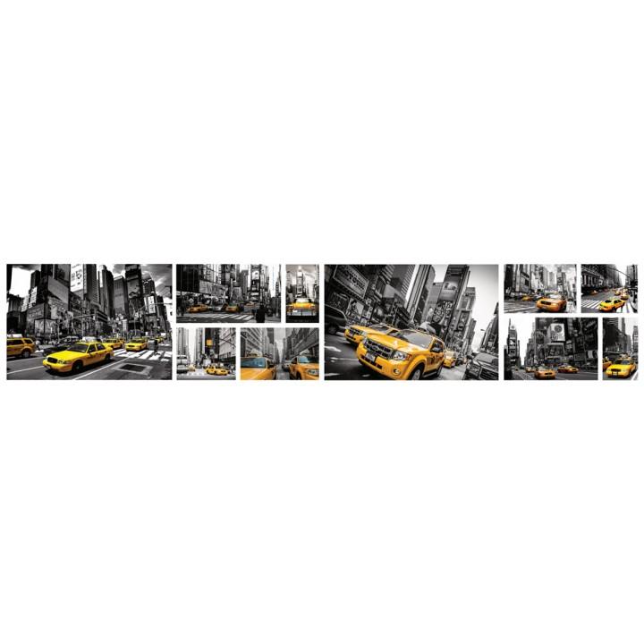 Кухонный фартук Желтое такси