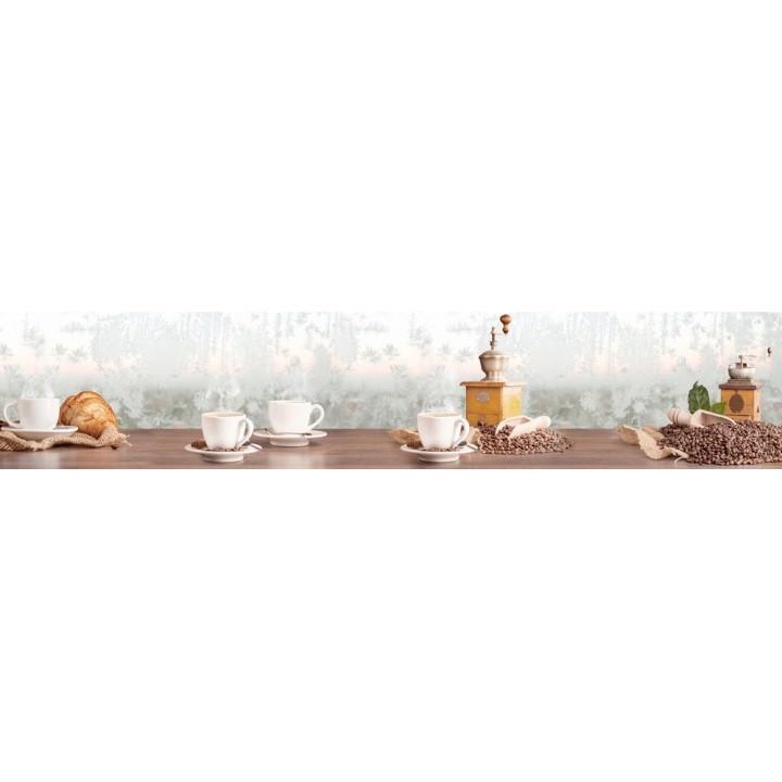 Кухонный фартук Морозный кофе