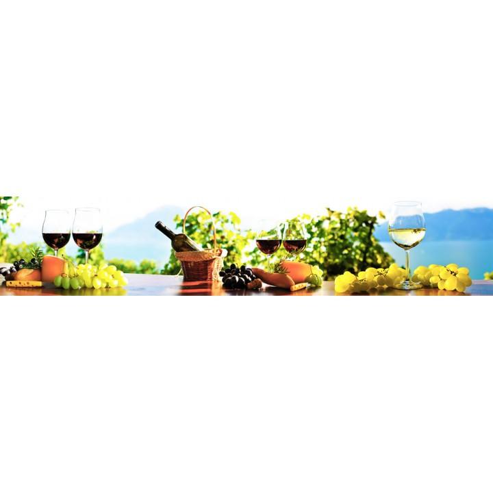Кухонный фартук Виноградное утро