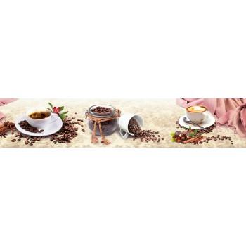 Кухонный фартук Кофе с корицей