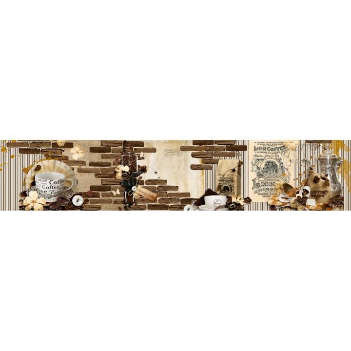 Кухонный фартук Кофе Леон