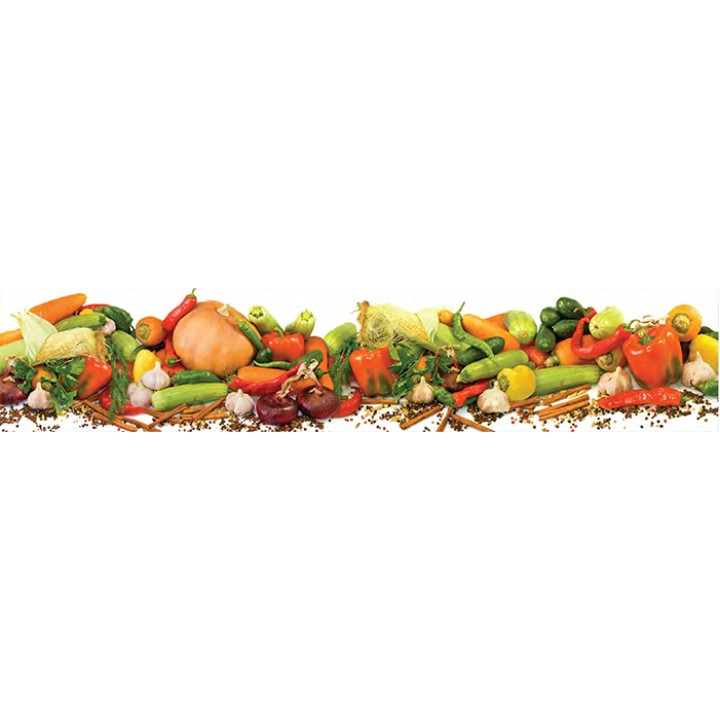 Кухонный фартук Овощное ассорти
