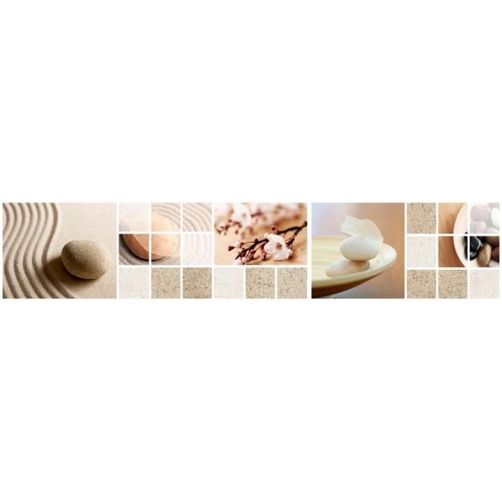 Кухонный фартук Камни и песок