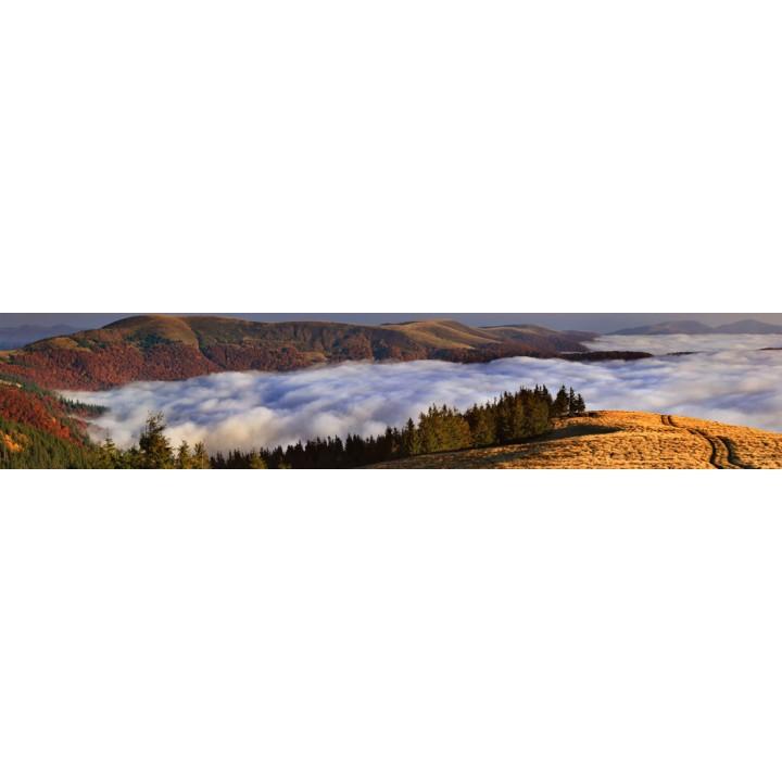 Кухонный фартук Горы в облаках