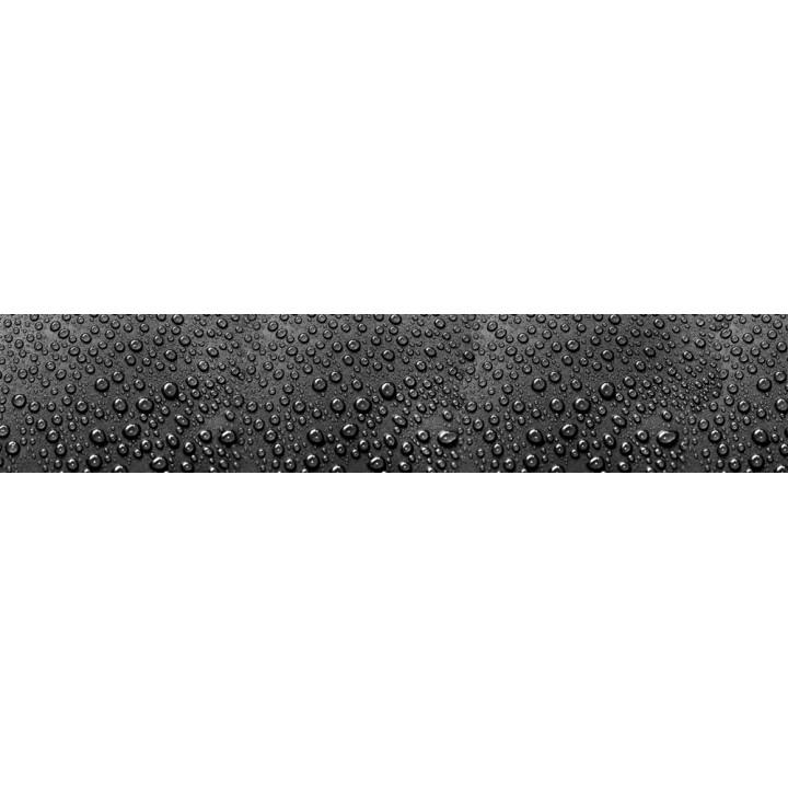 Кухонный фартук Капли на черном