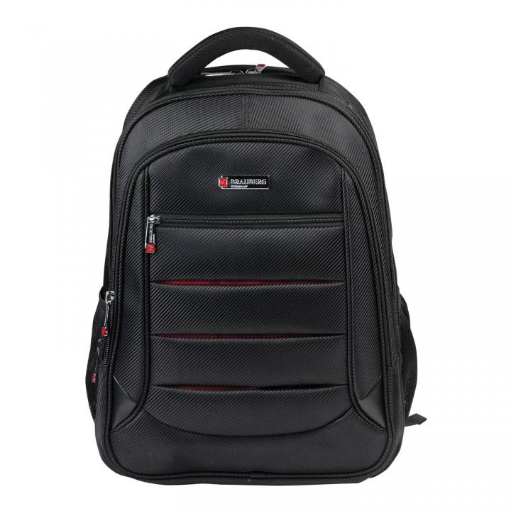 Рюкзак BRAUBERG Flagman 35л 46х35х25 см черно-красный 224454