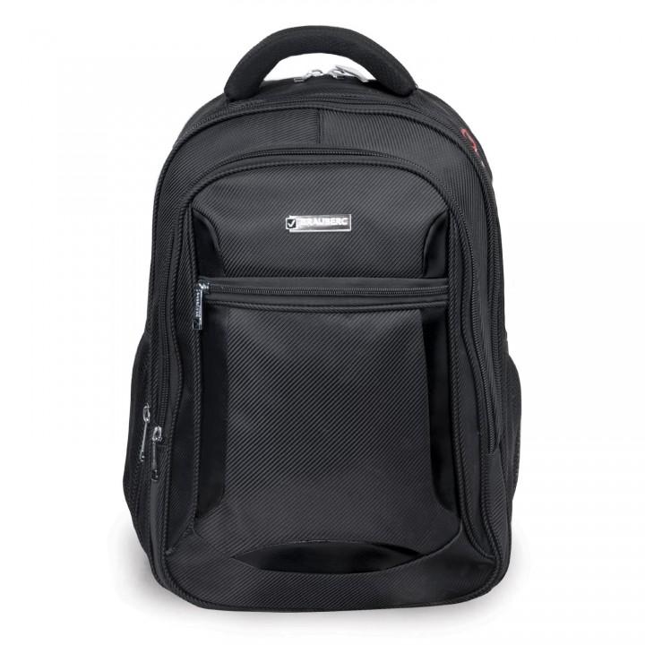 Рюкзак BRAUBERG Relax 3 35л 46х35х25 см черный 224455