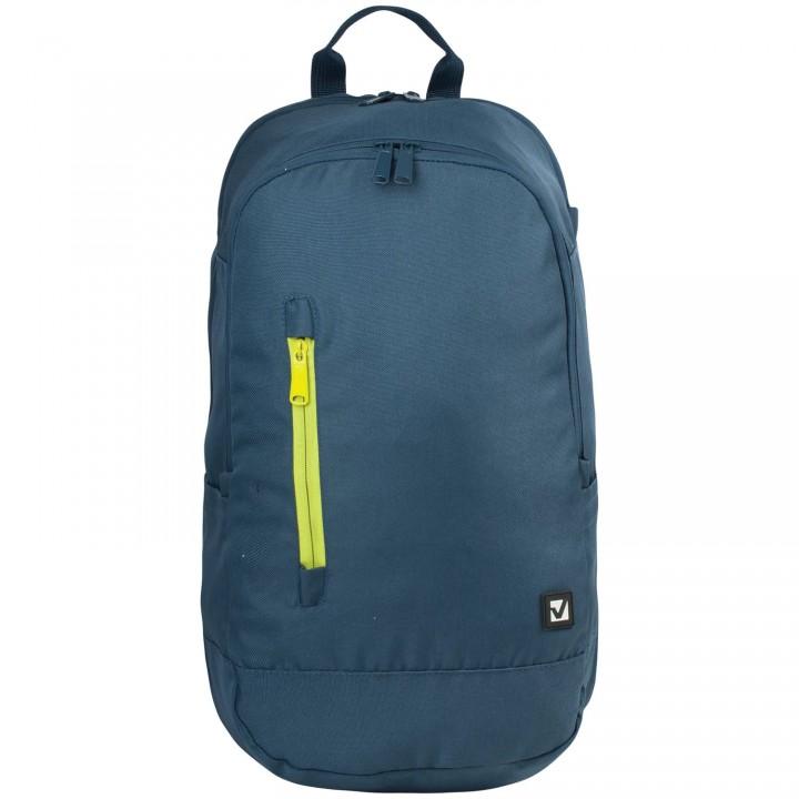 Рюкзак BRAUBERG универсальный синий 28л 50х31х20 см 225356