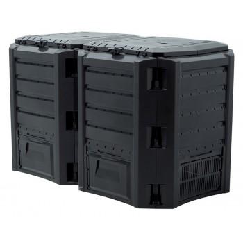 Компостер Module 800 л чёрный IKSM800C-S411