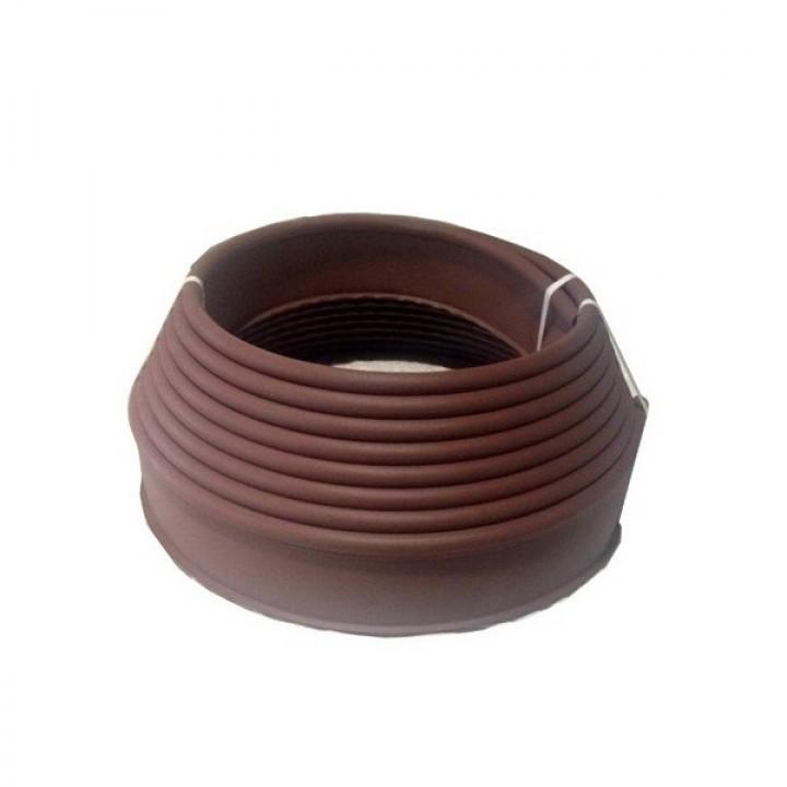 Бордюр SP KANTA пластиковый коричневый 82552-К