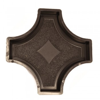 Форма для тротуарной плитки Alpha 20/3 Граль (Коло) Звезда большая Ф31010