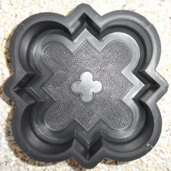 Форма для тротуарной плитки Alpha 1/3 Клевер краковский малый Ф31015