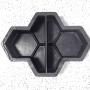 Форма для тротуарной плитки Alpha Соты 4.5 поперечные Ф31037/5