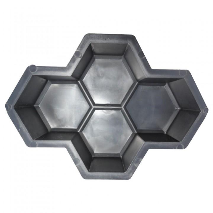 Форма для тротуарной плитки Alpha 11/1 Соты 4.5 Ф31037/2