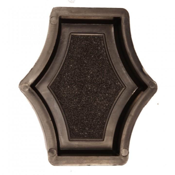 Форма для тротуарной плитки Alpha 20/4 Граль (Коло) Звезда малая Ф31011