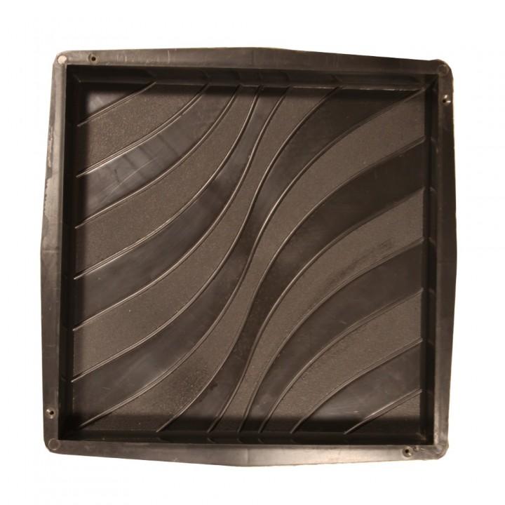 Форма для тротуарной плитки SP 30х30х3 Волна Ф12003