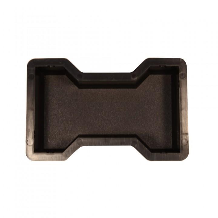 Форма для тротуарной плитки SP Двойное Т шагрень Ф11012