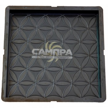 Форма для тротуарной плитки САМПРА 30х30х3 Цветок жизни