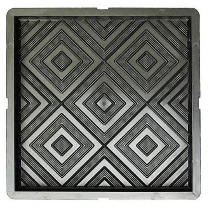 Форма для тротуарной плитки САМПРА 30х30х3 Калейдоскоп