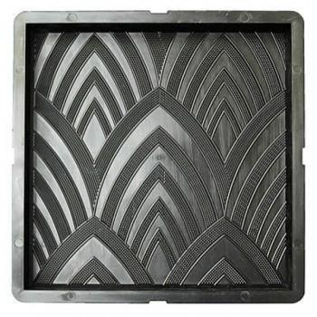 Форма для тротуарной плитки САМПРА 30х30х3 Лотосы