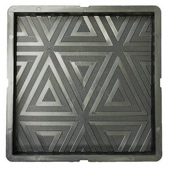 Форма для тротуарной плитки САМПРА 30х30х3 Треугольник