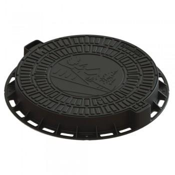 Люк канализационный пластиковый SP 35188-80Д