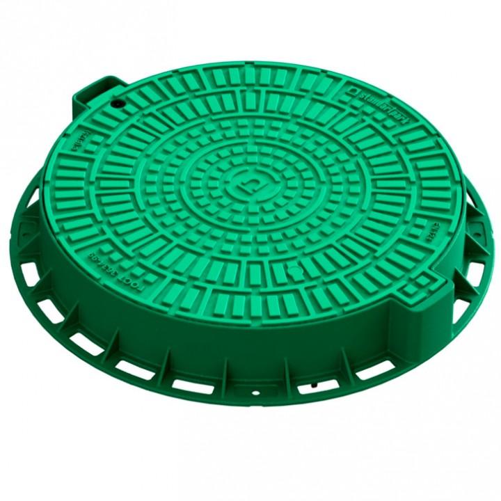 Люк канализационный пластиковый SP 35188-82Л