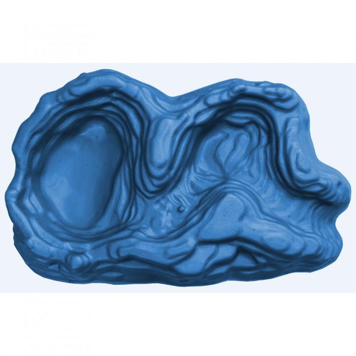 Ручей декоративный малый синий