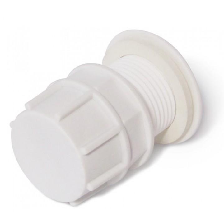 """Отвод для бака в сборе пластиковый 1 1/2"""""""