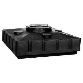 Бак для душа Aquatech 120 литров черный 16-2590*