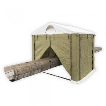 Палатка сварщика Митек 2,0 х 2,0 ПВХ+брезент