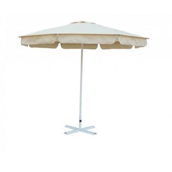 Зонт от солнца Митек 2,5 м стальной