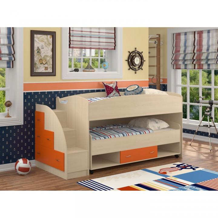 Двухъярусная кровать Формула мебели Дюймовочка-4.3