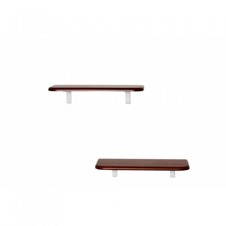 Комплект полок Калифорния Мебель Сочи 450