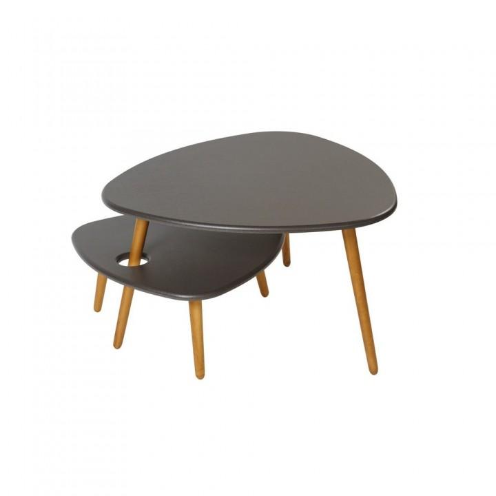 Комплект столов журнальных Калифорния Мебель Стилгрей (2 шт.)