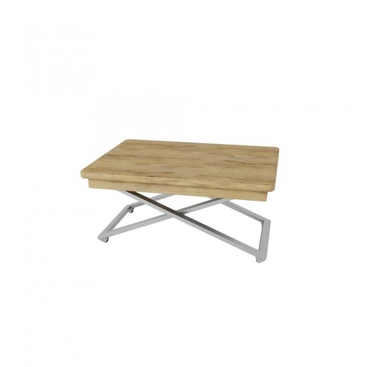Стол трансформируемый Калифорния Мебель МАКС Хром