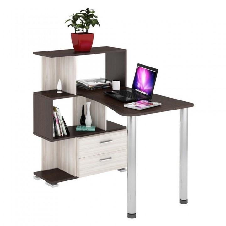 Компьютерный стол Мэрдэс СЛ-5-3СТ-2+БЯ