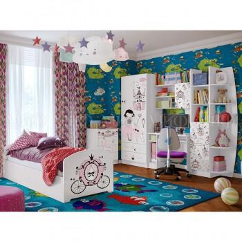 Комплект мебели для детской комнаты МиФ Принцесса